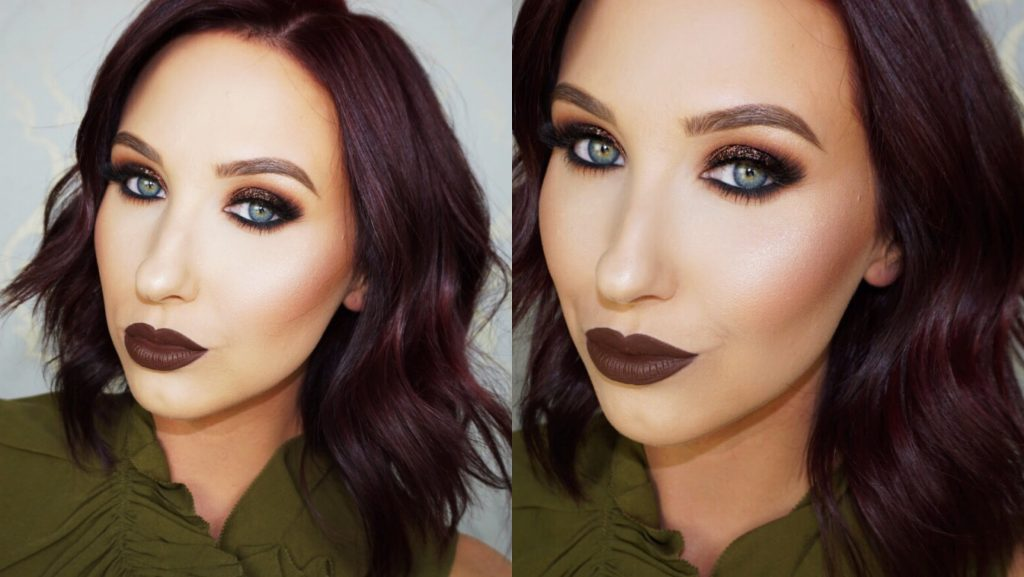 Lips brown