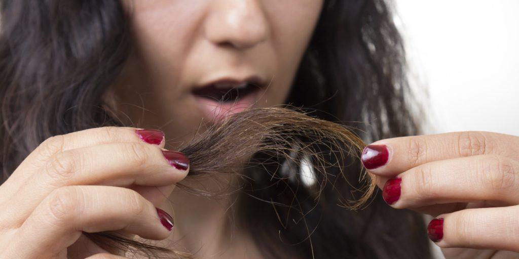 Splitting ends of Hair