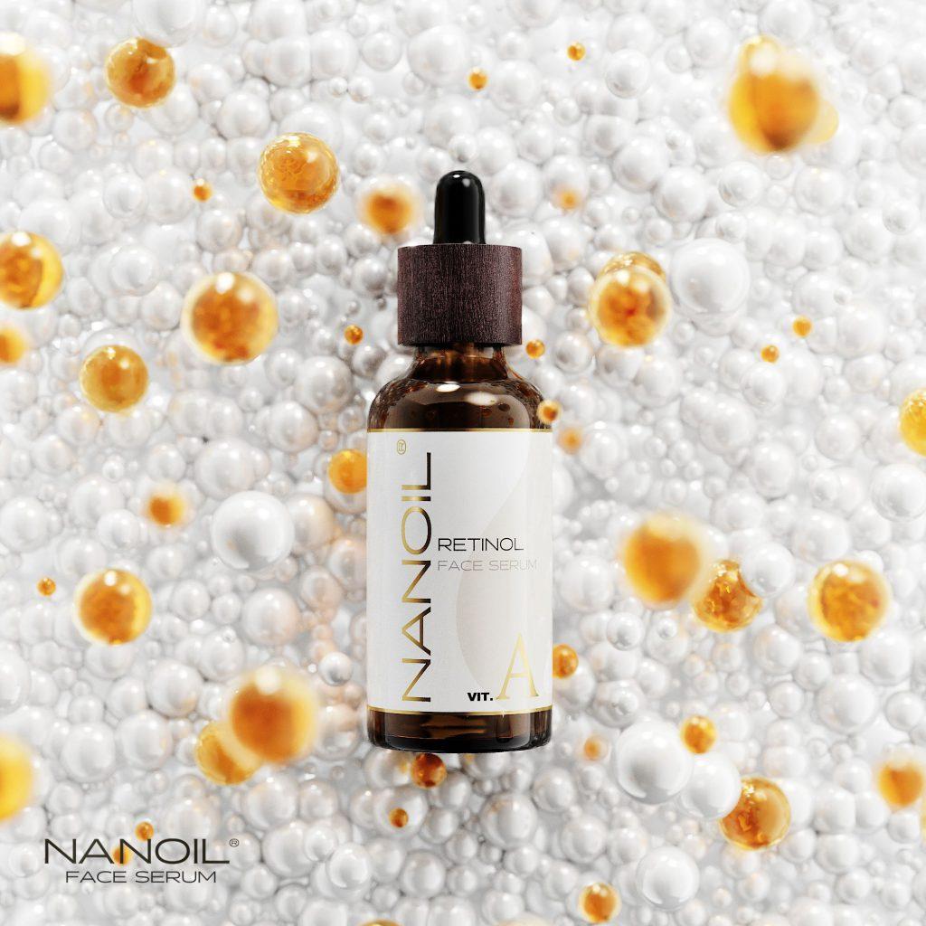 Oblíbené sérum na obličej s retinolem Nanoil